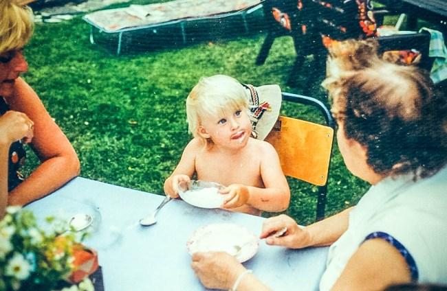 Ja då var man bara liten:)