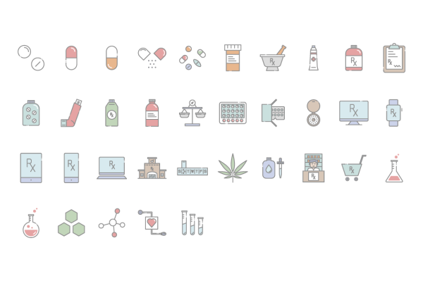 Pharmacy Icons Preview 3