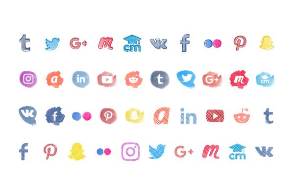 Social Media Icons 4