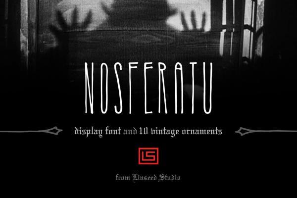 Nosferatu Font Family