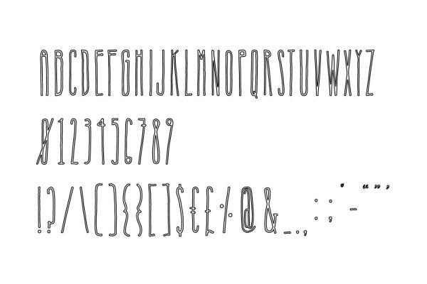Nosferatu Font Family 7