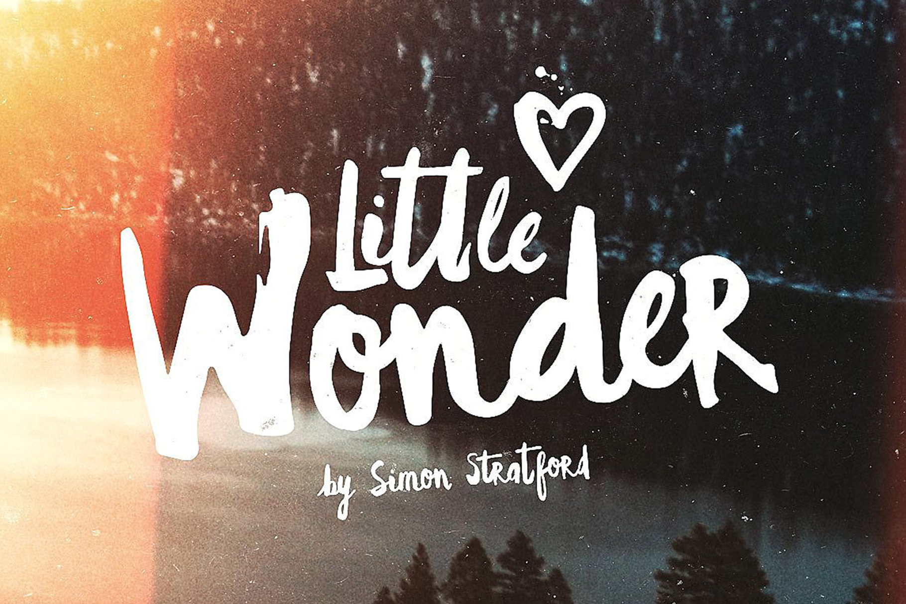 Little Wonder by Simon Stratford