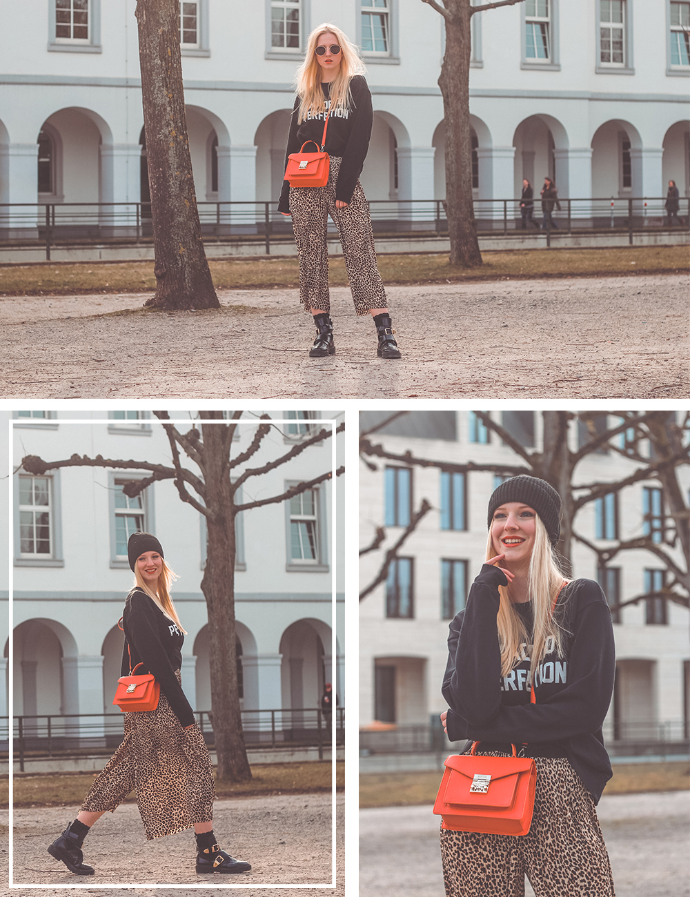 Trendfarbe, Living Coral, Leo Print, Blogger, Outfit, Trends 2019, Fashion, Mode