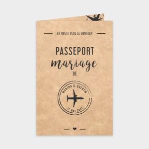 Faire-part de mariage Beau voyage