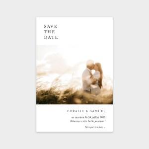 Save the date Éternel