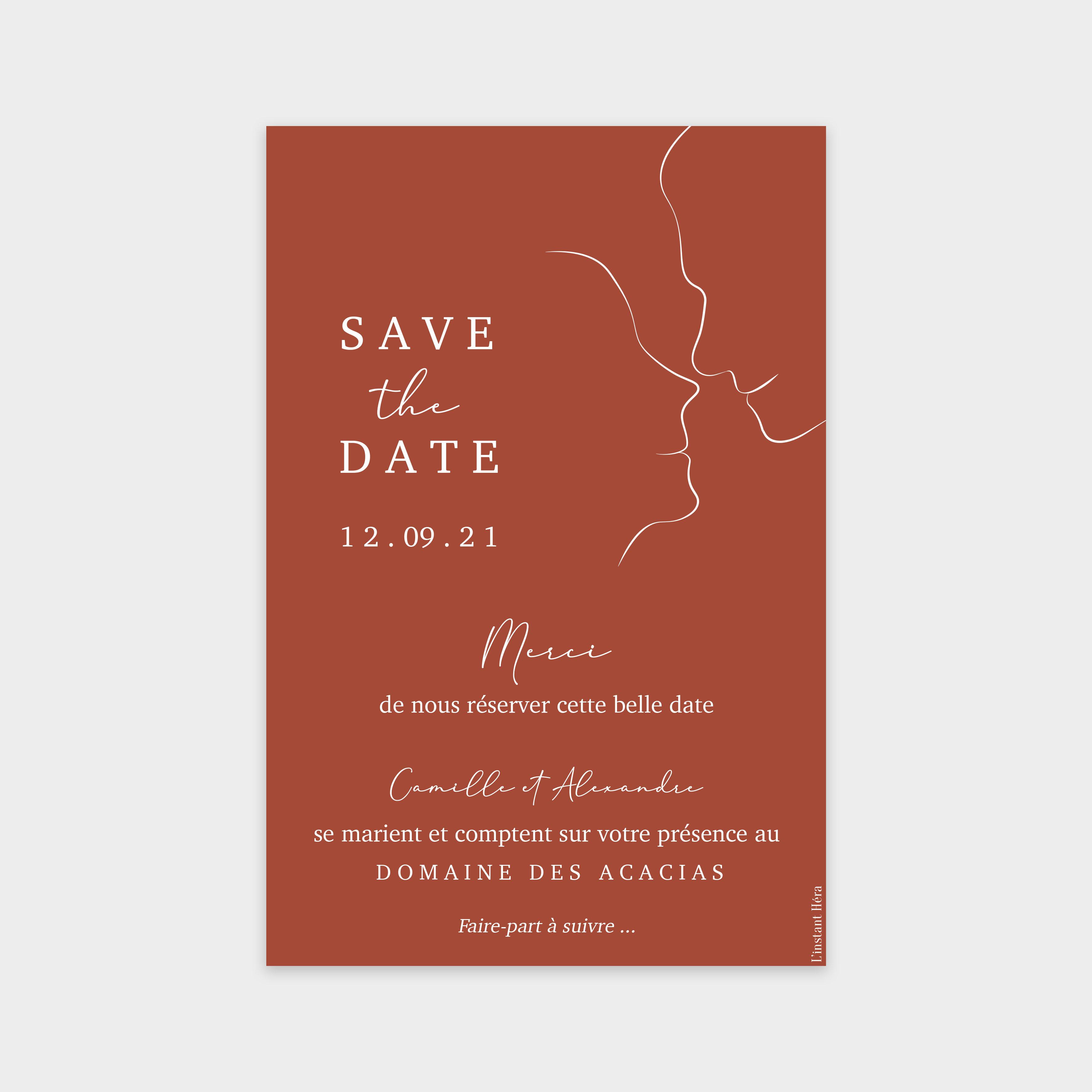 Save the date Regard toscane