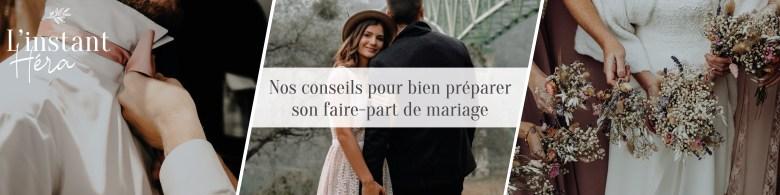 Nos conseils pour bien préparer son faire-part de mariage