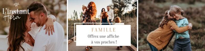 Offrez une affiche famille à vos proches