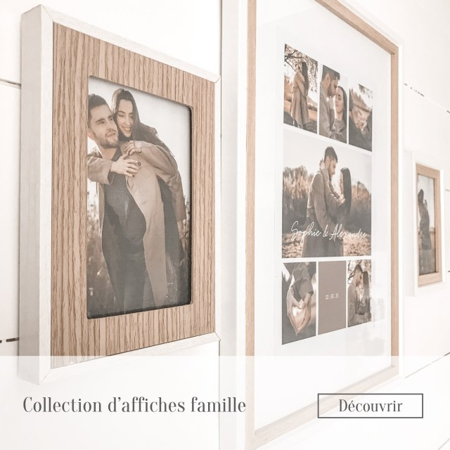 Collection d'affiches famille
