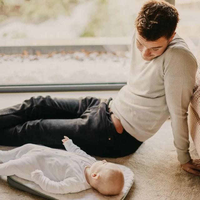 L'instant Héra-Papa et son enfant