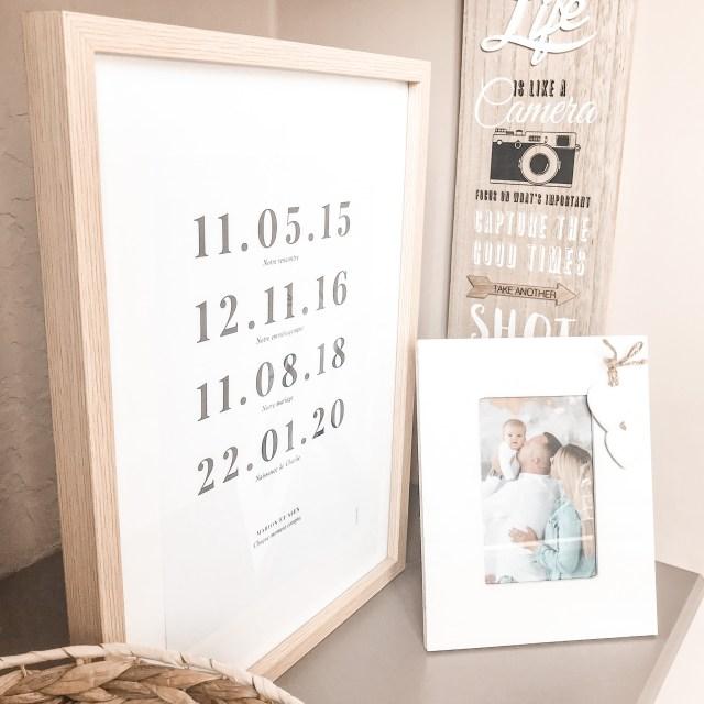 Affiche famille Nos doux moments