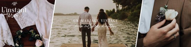 Un mariage vintage aux allures d'antan