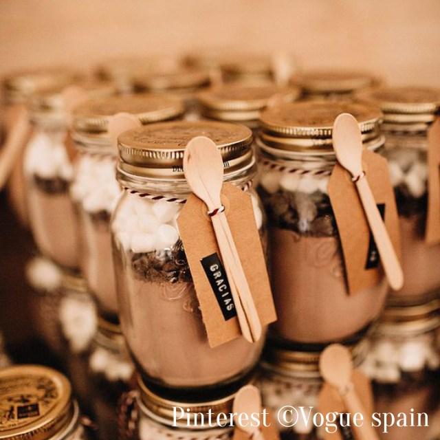 Cadeaux invités-Les chocolats chauds