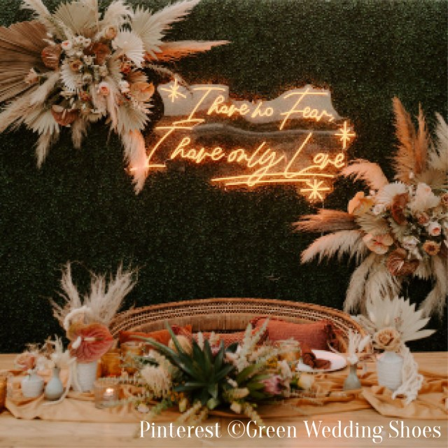 Photobooth de mariage-Mur de fleurs