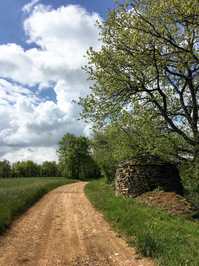Aveyron Caselle Chemin Compostelle