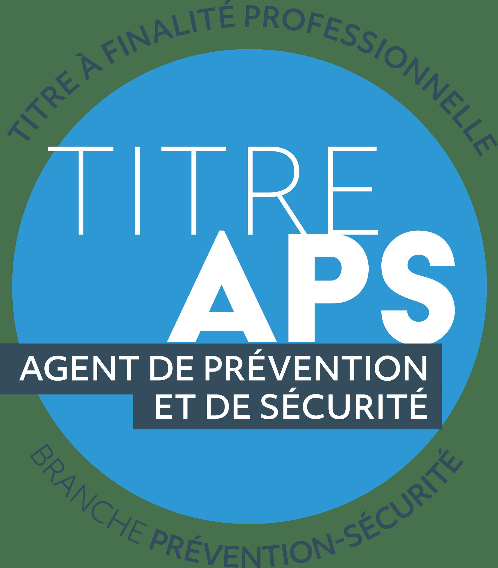 TFP-APS titre à finalité professionnelle agent de sécurité