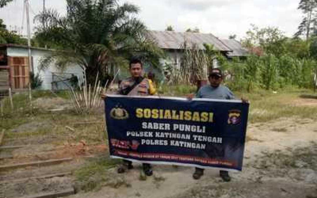 Bripka Sumarno Ajak Masyarakat Desa Mirah Kalanaman Berantas Praktik Pungli