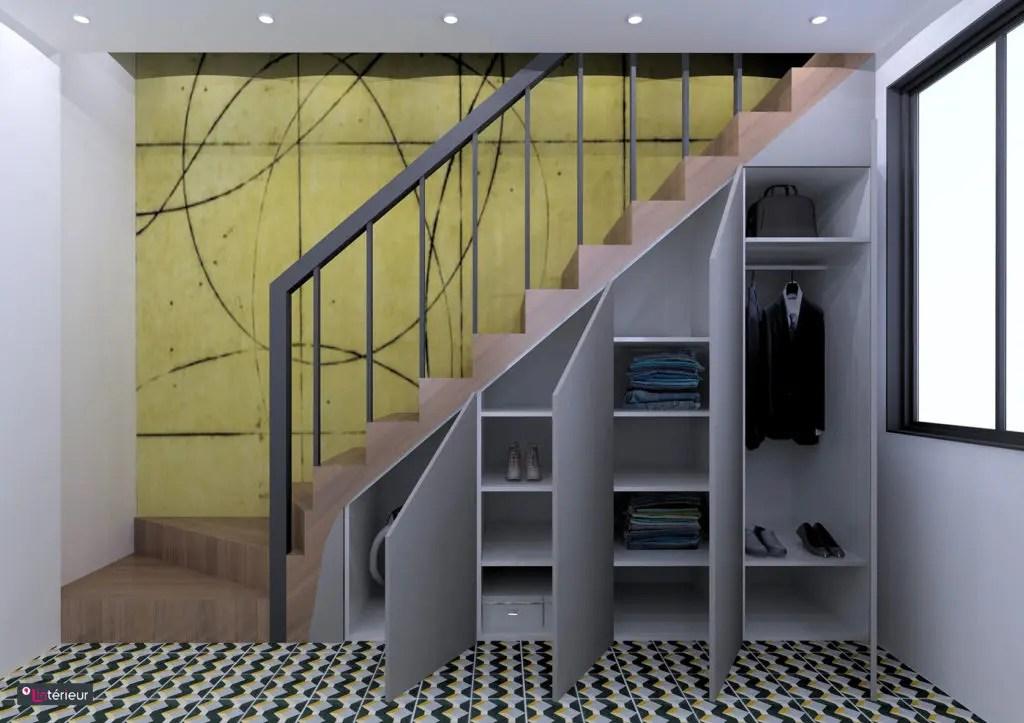 Rangement Sous Escalier Nantes Lintrieur Architecte D