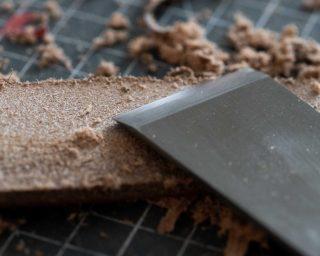Japanese skiving knife
