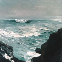 Cannon Rock (1895 – oil on canvas)