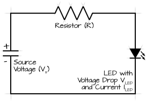 What would I need to power 5 LEDs?  Hobby Electronics