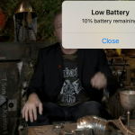 Low Battery Warning Is Off Center Troubleshooting Linus Tech Tips