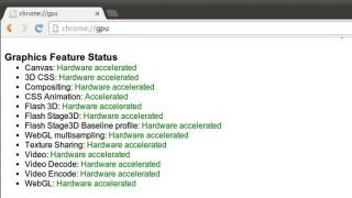 "Enable ""аппаратное ускорение в Chrome/Chromium"""