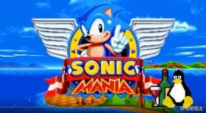 Sonic Mania в Linux через Wine