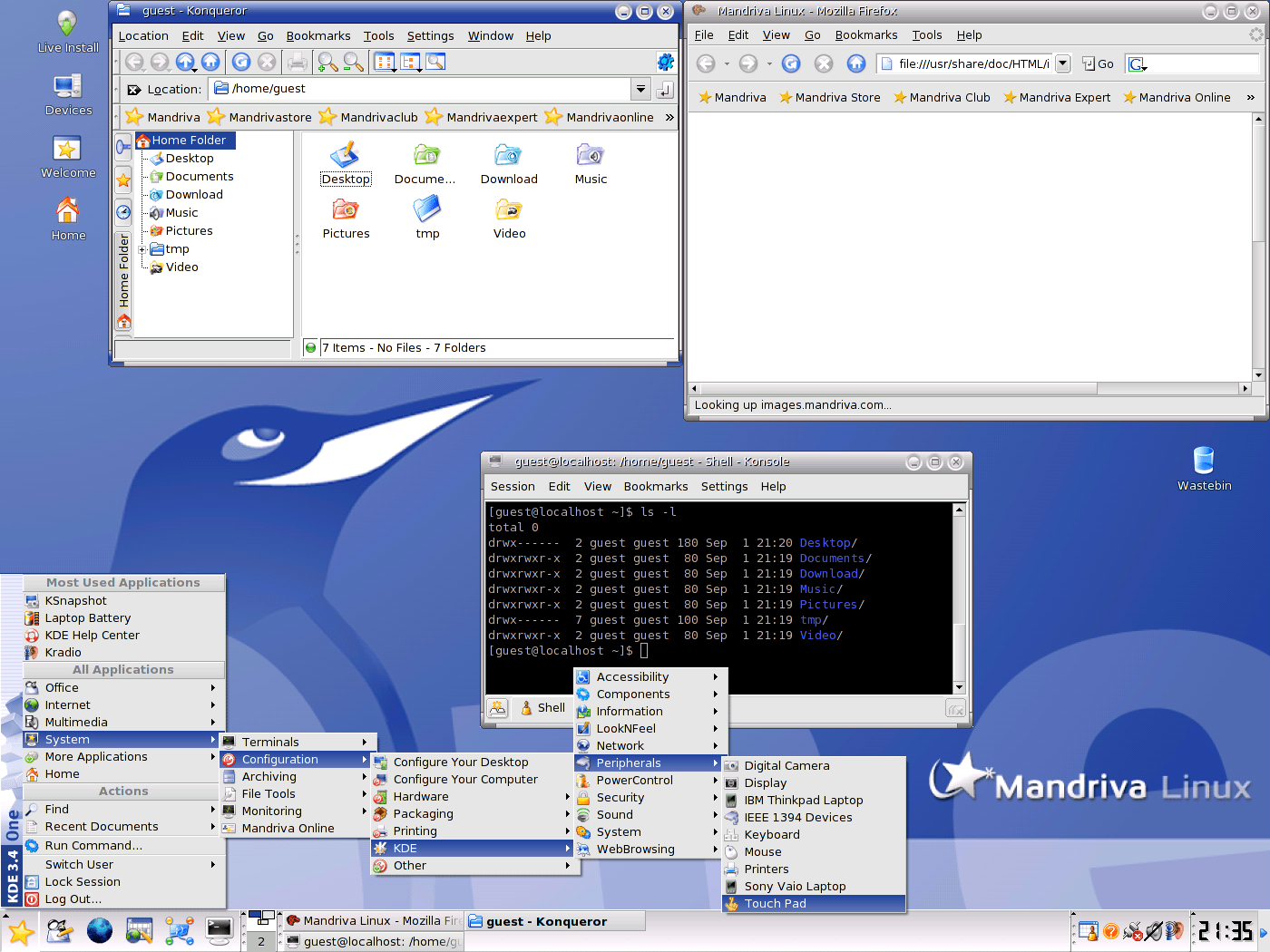 First Time Linux