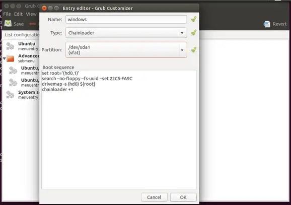 Customizing Grub The Easy Way: Grub-customizer - LinuxAndUbuntu