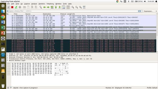 Install Wireshark Linux