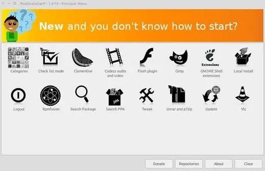 postinstallerf prepare configure post install ubuntu fedora