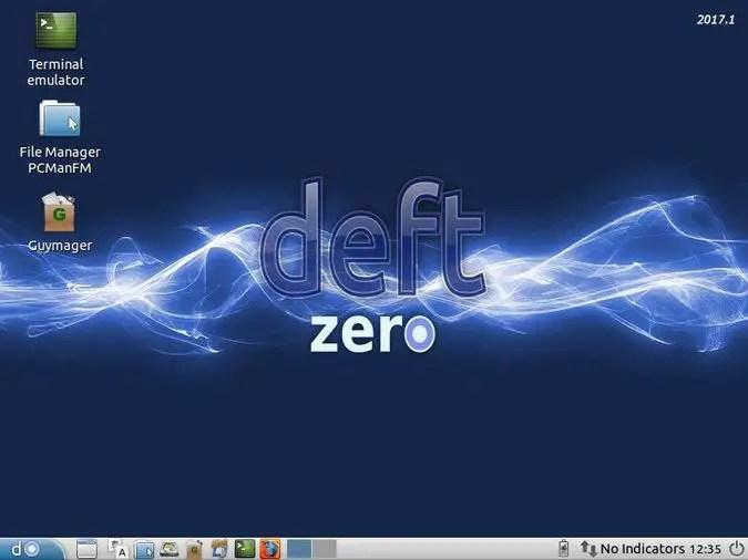 deft linux forensics desktop environment