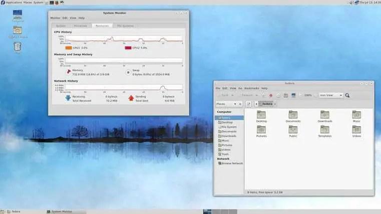 fedora 26 lxqt desktop environment