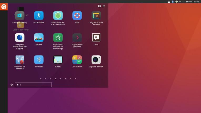 unity 8 theme for ubuntu