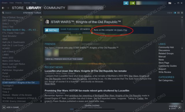 How to Install and Use Steam Play on Linux - Linux Tutorials