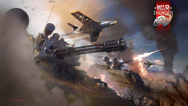 Desert Hunters 1.63 update hits War Thunder linux mac pc