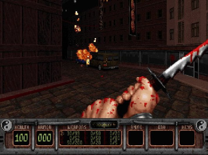 shadow warrior classic complete free linux pc screenshot