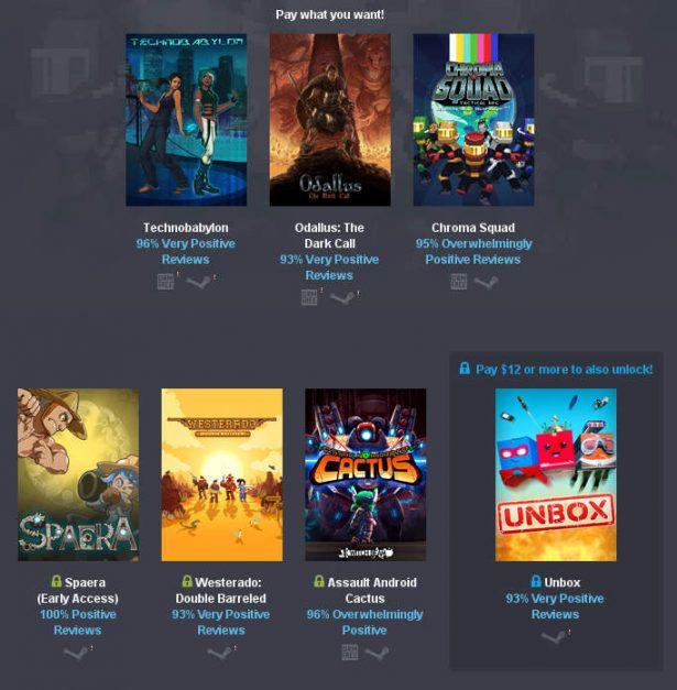 Humble Gems Bundle games release linux mac pc