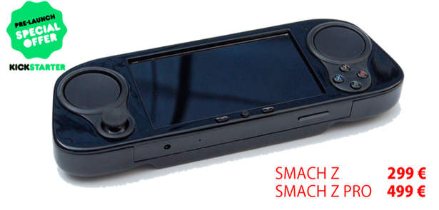 SMACH Z handheld back now on Kickstarter for linux and windows