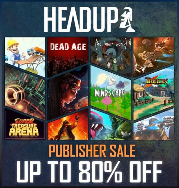 headup games publisher sale on steam for linux games