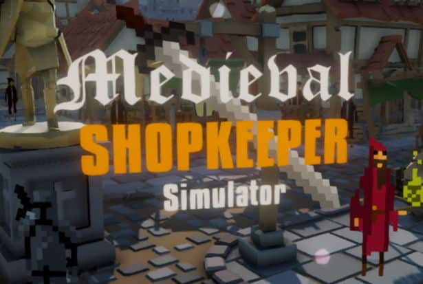 nedieval shopkeeper simulator on Kickstarter games - linux mac windows pc