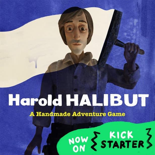 harold halibut livestream via kickstarter live for linux mac windows games