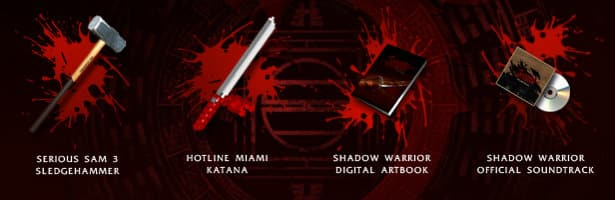 shadow warrior: special edition includes these items linux mac windows games