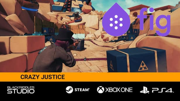 crazy justice third-person shooter on fig for linux ubuntu mac window games 2017