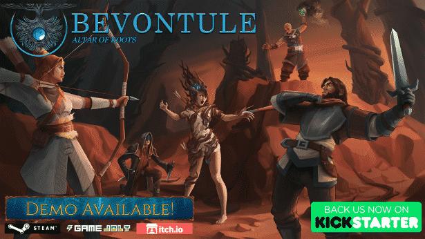 Bevontule: Altar of Roots hits Kickstarter games - Linux Game Consortium