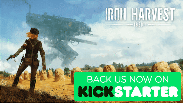 iron harvest strategy rts kickstarter funded in windows mac linux games