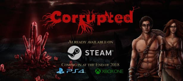 corrupted arcade rpg and visual novel releases on linux mac windows