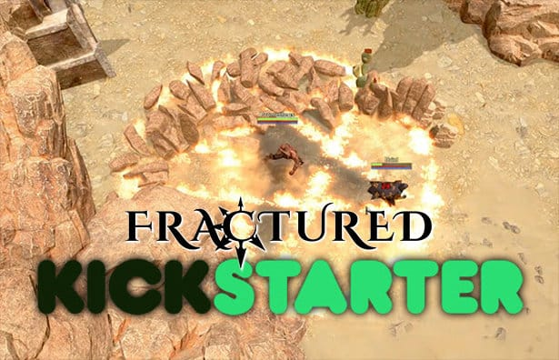 fractured open world mmorpg hits kickstarter for linux mac windows