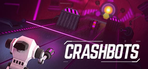 crashbots action shooter launches on steam for linux mac windows
